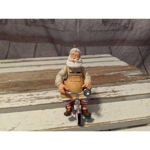Hallmark Keepsake 2011 Toymaker Santa Riding Tricy